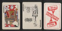 3 different joker cards from playing cards  #224